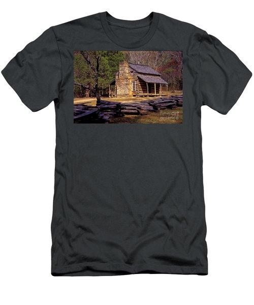Appalachian Homestead Men's T-Shirt (Slim Fit) by Paul W Faust -  Impressions of Light