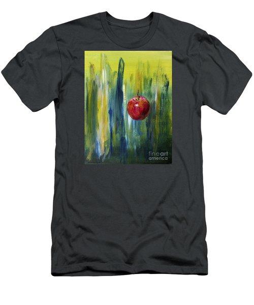 Apple Men's T-Shirt (Slim Fit) by Arturas Slapsys