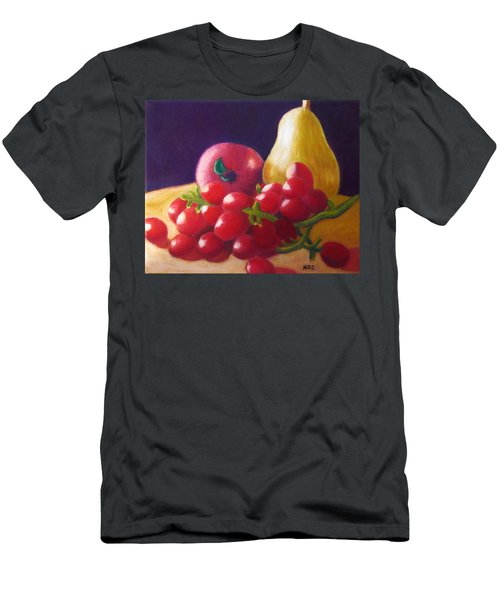 Apple Pear Grapes Men's T-Shirt (Athletic Fit)