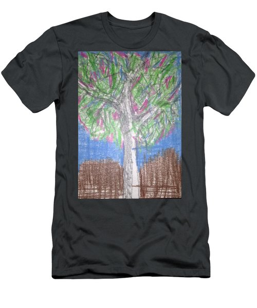 Apple Tree Men's T-Shirt (Athletic Fit)