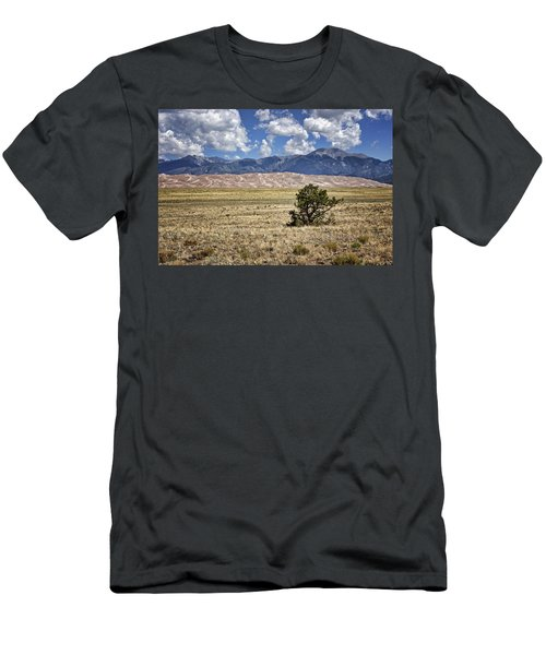 Approaching Great Sand Dunes #3 Men's T-Shirt (Athletic Fit)