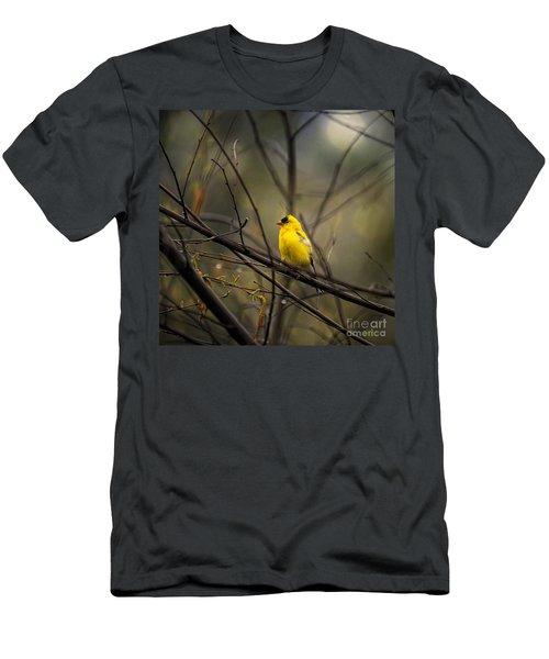 April Showers In Square Format Men's T-Shirt (Athletic Fit)