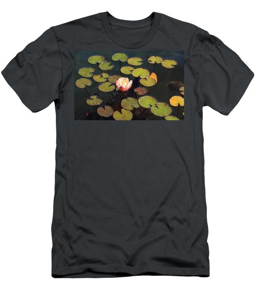 Aquatic Garden With Water Lily Men's T-Shirt (Athletic Fit)