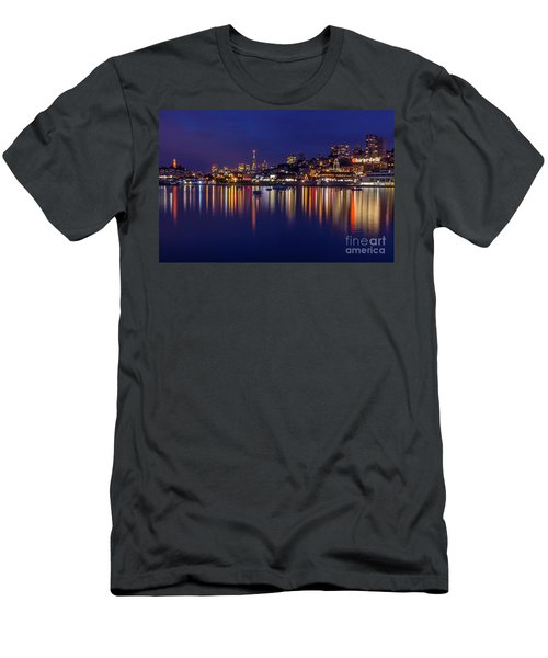 Aquatic Park Blue Hour Wide View Men's T-Shirt (Athletic Fit)