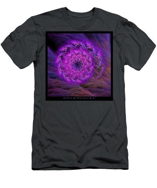 Arachne's Nautilus  Men's T-Shirt (Athletic Fit)