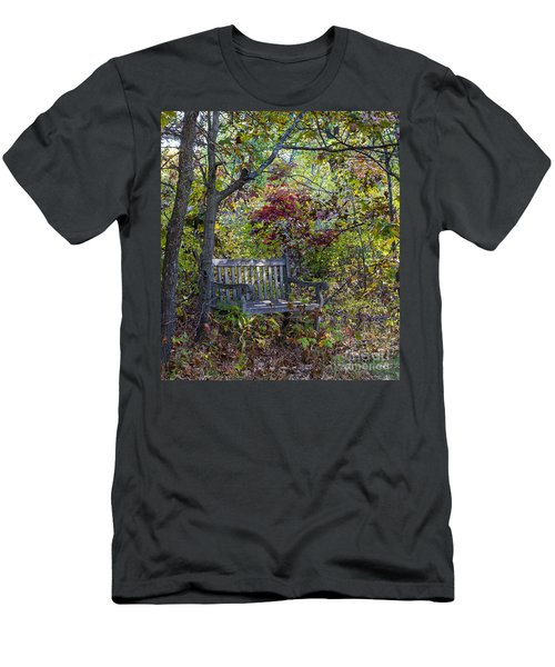 Arboretum Bench Men's T-Shirt (Athletic Fit)
