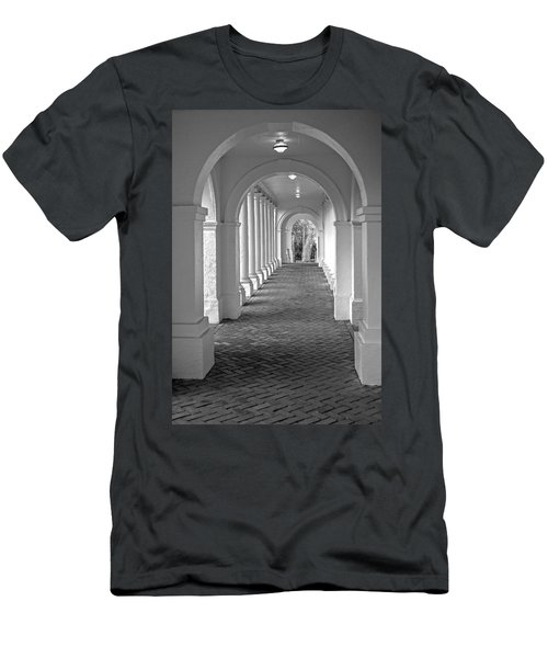 Arches At The Rotunda At University Of Va 2 Men's T-Shirt (Athletic Fit)