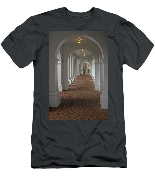 Arches At The Rotunda At University Of Va Men's T-Shirt (Athletic Fit)