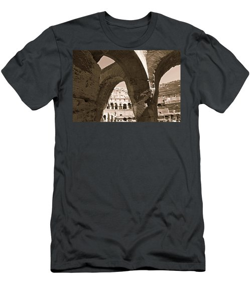 Arches In The Colosseum Men's T-Shirt (Athletic Fit)