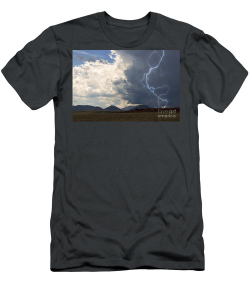 Arizona Desert Lightning  Men's T-Shirt (Athletic Fit)