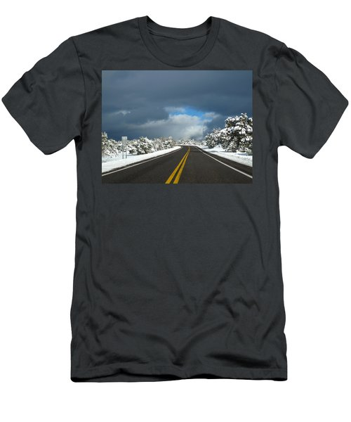 Arizona Snow 1 Men's T-Shirt (Athletic Fit)