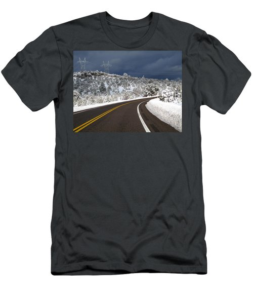 Arizona Snow 2 Men's T-Shirt (Athletic Fit)