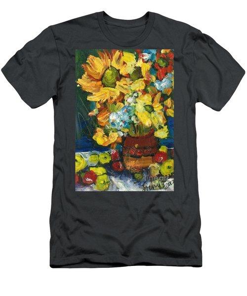 Arizona Sunflowers Men's T-Shirt (Athletic Fit)