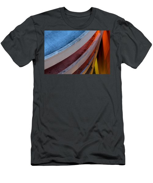 Around And Down Men's T-Shirt (Athletic Fit)