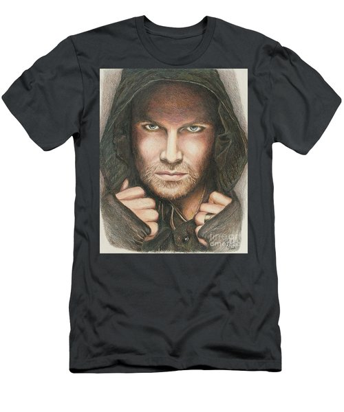 Arrow / Stephen Amell Muted Men's T-Shirt (Athletic Fit)