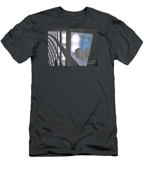 Men's T-Shirt (Slim Fit) featuring the photograph Arsenic No Lace by John King