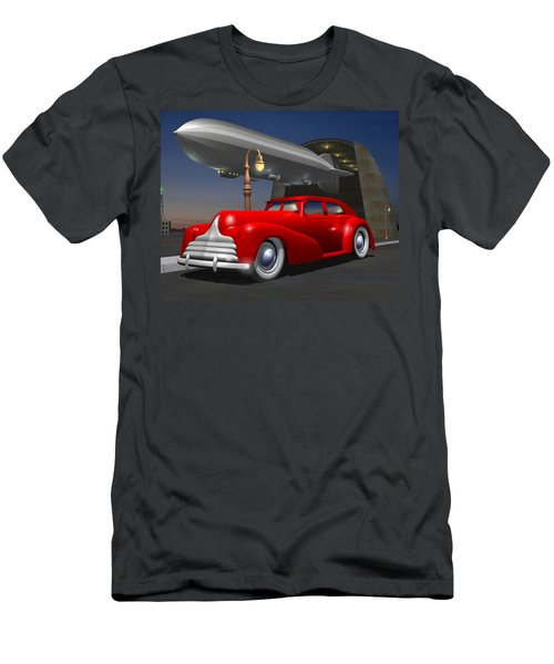 Art Deco Sedan Men's T-Shirt (Athletic Fit)