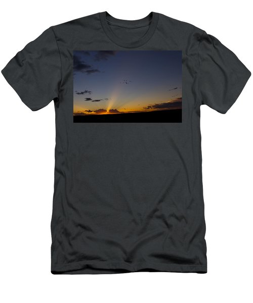 As Night Falls Men's T-Shirt (Athletic Fit)
