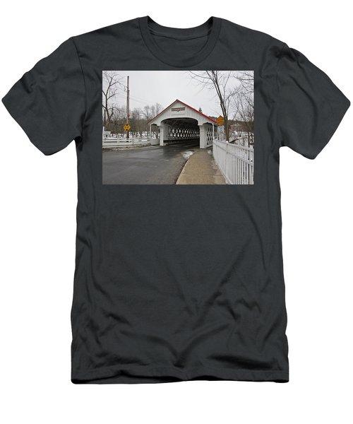 Ashuelot Bridge Men's T-Shirt (Athletic Fit)