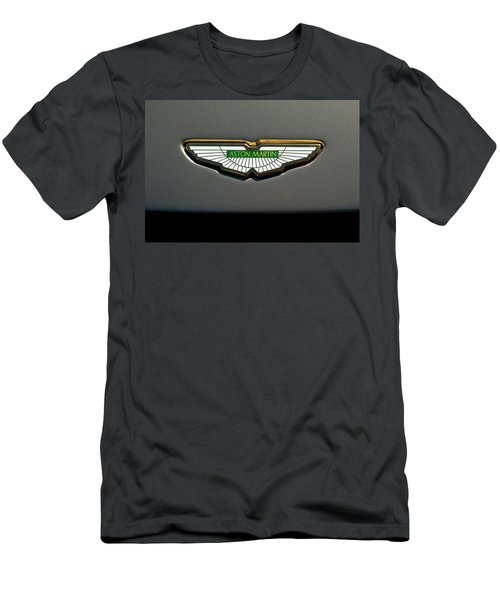 Aston Martin Emblem Men's T-Shirt (Athletic Fit)