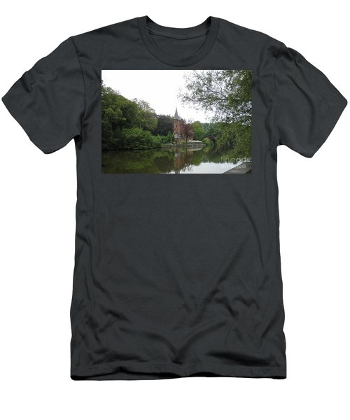 at THE MINNEWATER in BRUGGE Brugges Belgium Men's T-Shirt (Slim Fit)