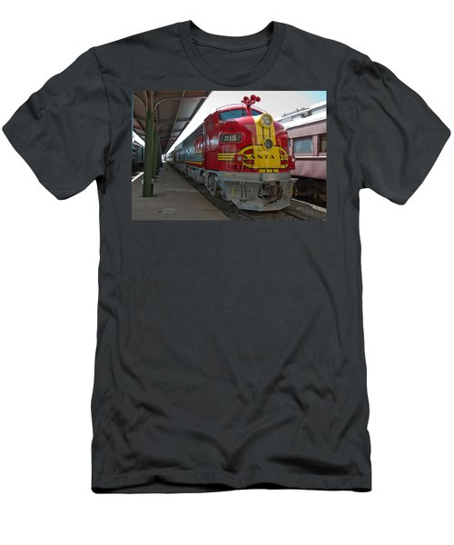 Atsf 315 Emd F7a Men's T-Shirt (Slim Fit) by John Black