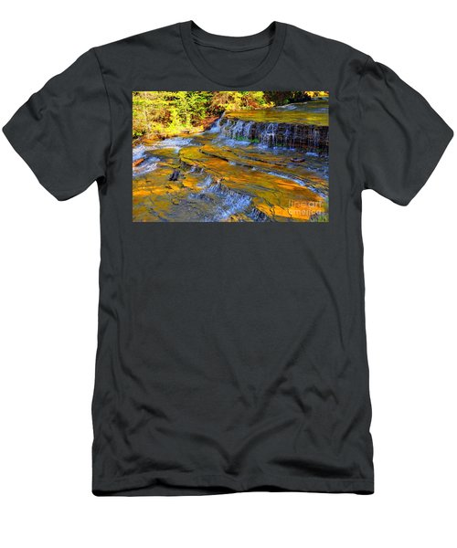 Au Train Falls Men's T-Shirt (Athletic Fit)