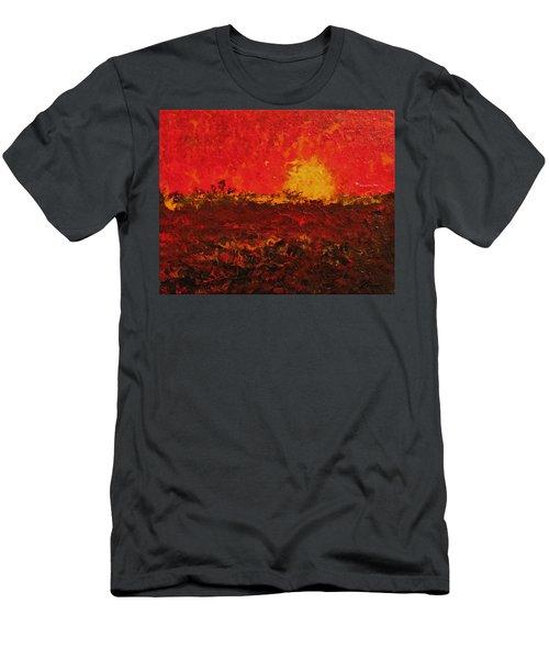 August Fields Men's T-Shirt (Athletic Fit)