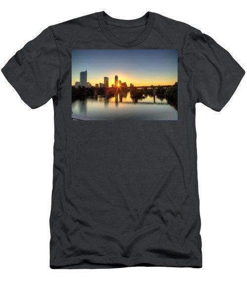 Austin Sunrise Men's T-Shirt (Athletic Fit)