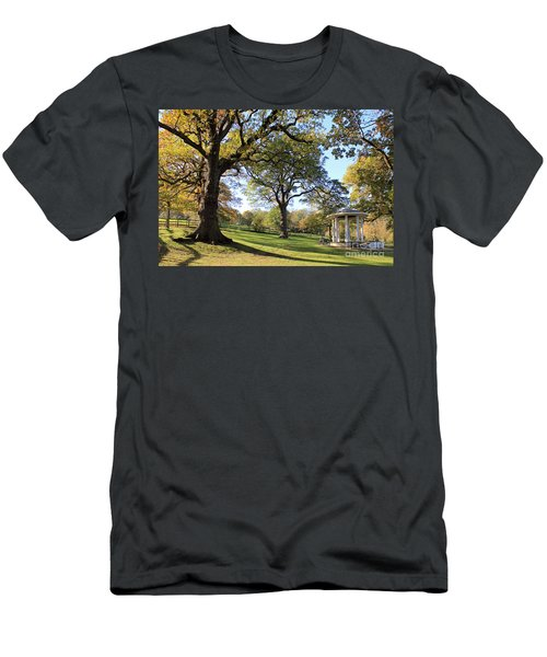 Autumn At Runnymede Uk Men's T-Shirt (Athletic Fit)