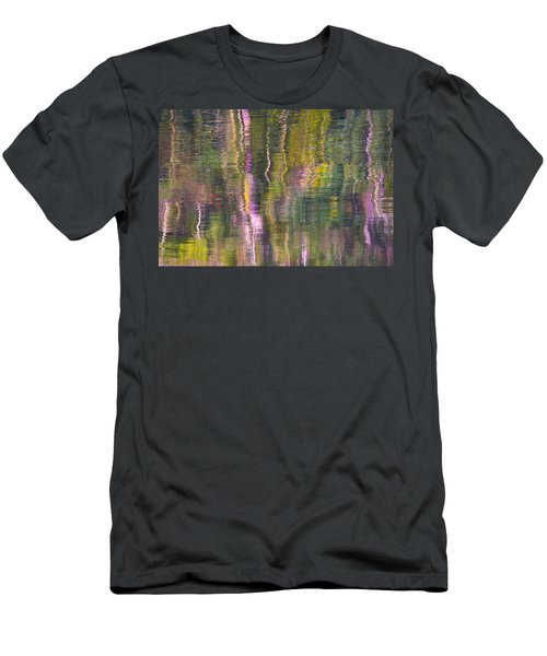 Men's T-Shirt (Slim Fit) featuring the photograph Autumn Carpet by Yulia Kazansky