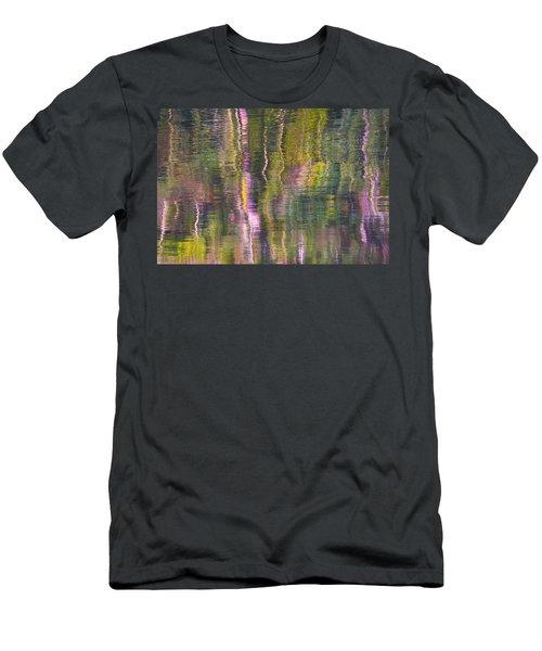 Autumn Carpet Men's T-Shirt (Slim Fit) by Yulia Kazansky