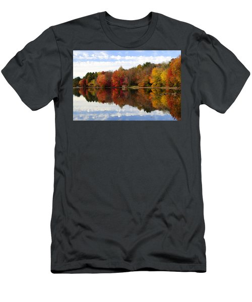 Autumn Explosion Men's T-Shirt (Athletic Fit)