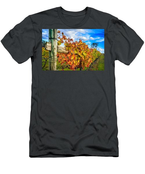 Autumn Falls At The Winery Men's T-Shirt (Athletic Fit)