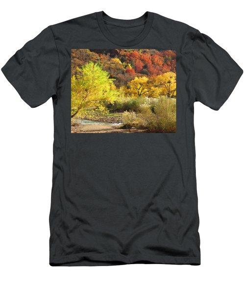 Autumn In Zion Men's T-Shirt (Athletic Fit)