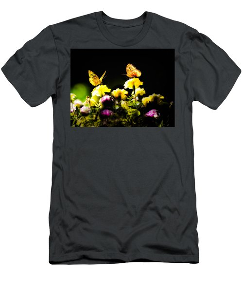 Men's T-Shirt (Athletic Fit) featuring the photograph Autumn Is When We First Met by Bob Orsillo