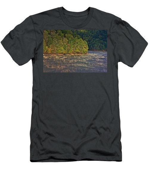 Autumn Mist Men's T-Shirt (Slim Fit) by Tom Culver