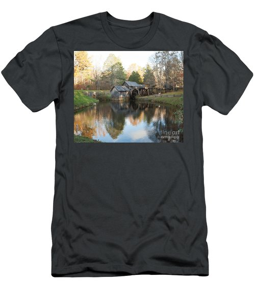 Autumn Morning At Mabry Mill Men's T-Shirt (Athletic Fit)