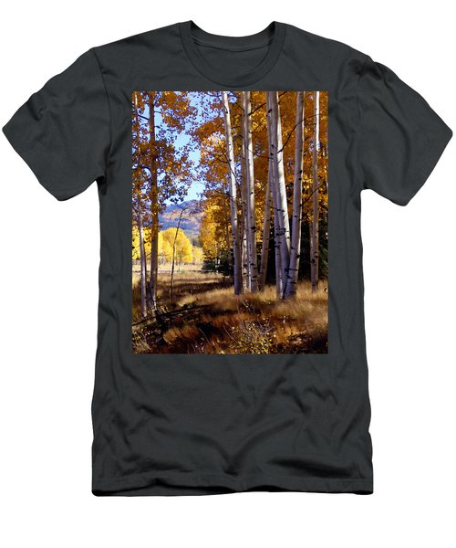 Autumn Paint Chama New Mexico Men's T-Shirt (Athletic Fit)