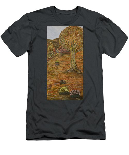 Autumn Sequence Men's T-Shirt (Athletic Fit)