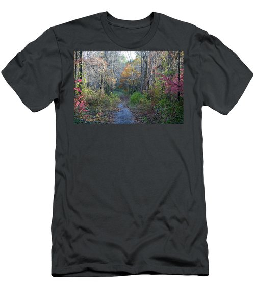 Autumn Silence No.2 Men's T-Shirt (Slim Fit)