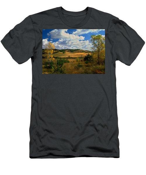 Autumn Skies Men's T-Shirt (Athletic Fit)