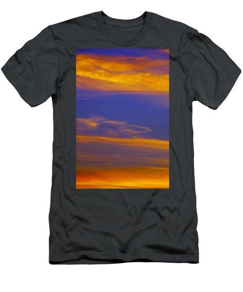 Autumn Sky Portrait Men's T-Shirt (Athletic Fit)