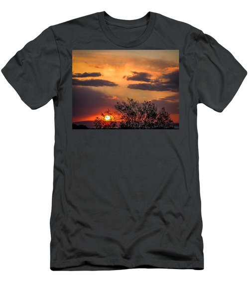 Autumn Sunrise Men's T-Shirt (Athletic Fit)
