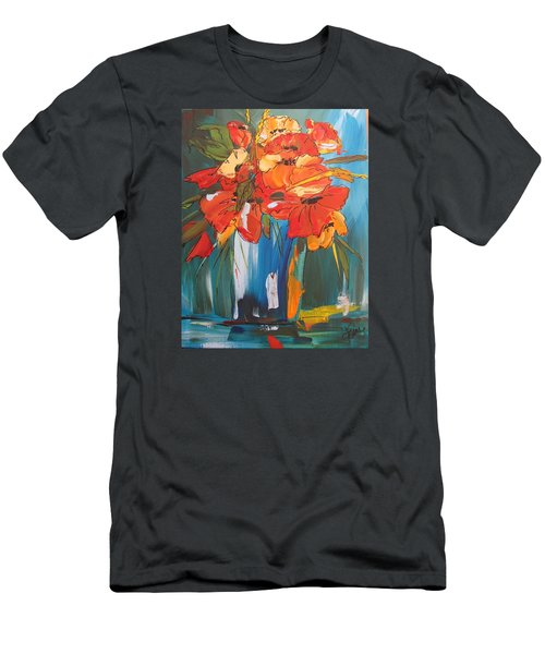Autumn Vase Men's T-Shirt (Athletic Fit)