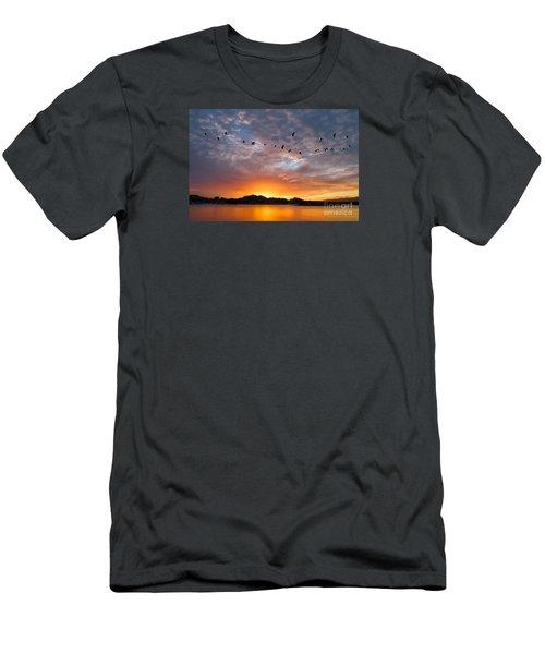 Awakening Men's T-Shirt (Slim Fit) by Alice Cahill