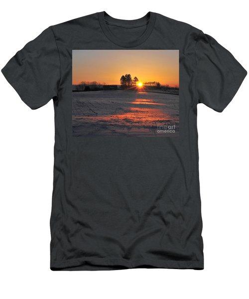 Men's T-Shirt (Slim Fit) featuring the photograph Awakening by Terri Gostola