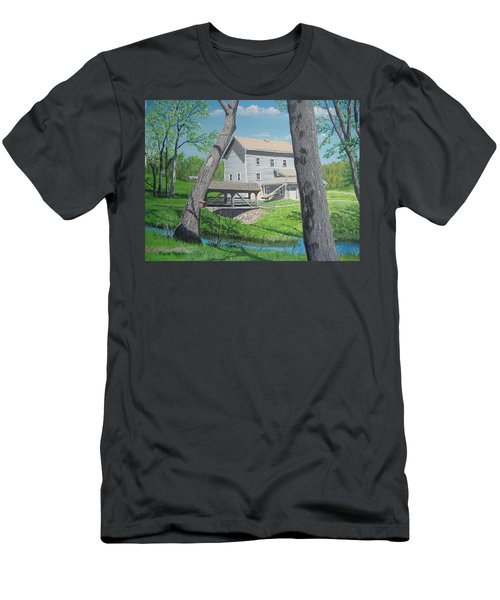 Award-winning Painting Of Beckman's Mill Men's T-Shirt (Athletic Fit)
