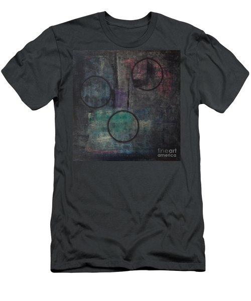 Aware Of Silence Men's T-Shirt (Slim Fit) by Mini Arora