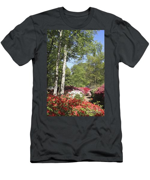 Azalea Flowers Men's T-Shirt (Athletic Fit)